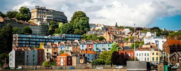 calles de bristol - Estudiar inglés en Bristol