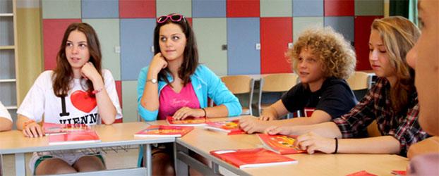 jovenes en viena - Programa de alemán para familias en Viena