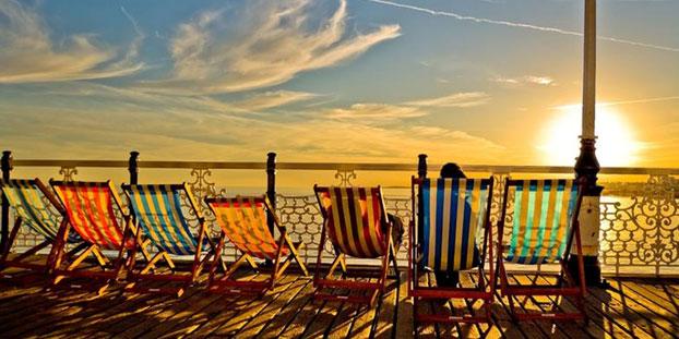 estudiar ingles playa inglaterra -