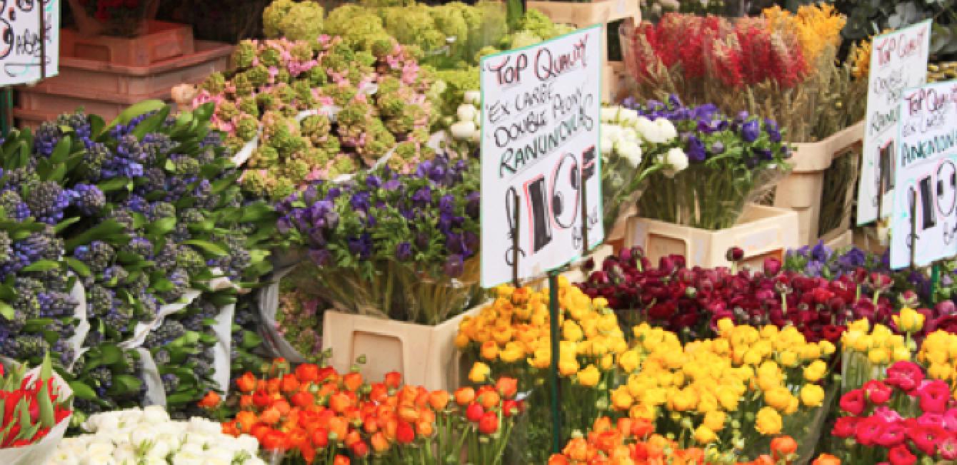 columbia road flower market - 10 mercados londinenses que merecen una visita