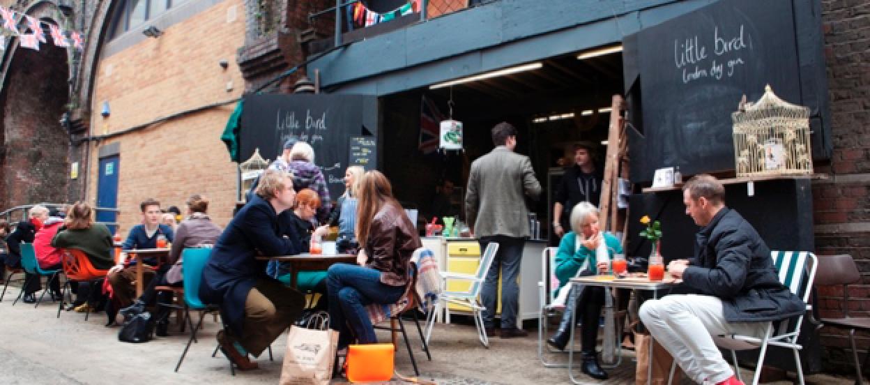 maltby street market - 10 mercados londinenses que merecen una visita