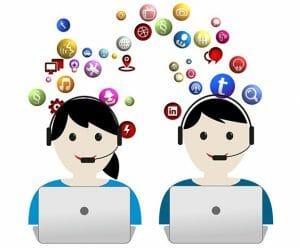 redes sociales 300x248 - Las 10 mejores redes sociales para aprender idiomas