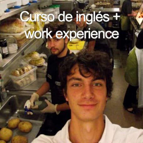 curso ingles work experience - Viajes de estudio para grupos