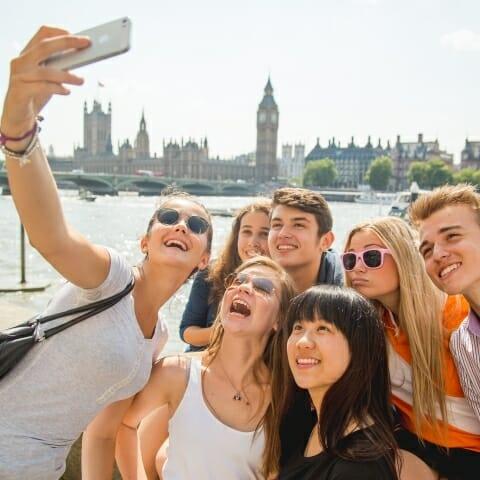 Londres 1 - Cursos de inglés con viaje individual para menores