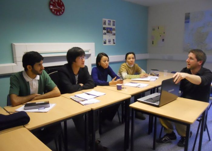 aprender inglés en Edimburgo
