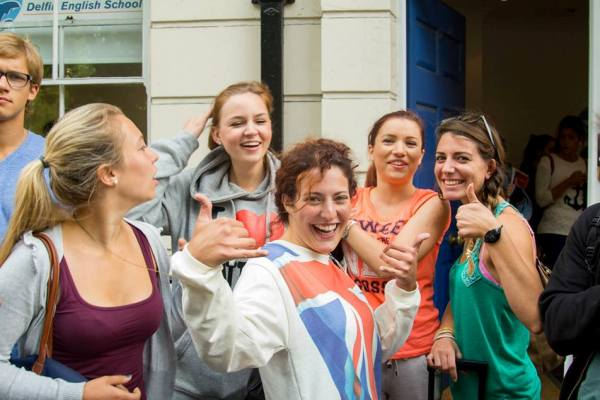 alumnas en Londres