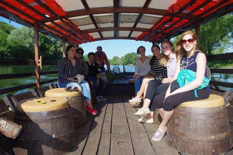curso frances tours crucero loira - Tours