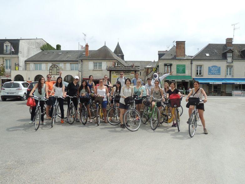 curso frances tours excursion bici - Tours
