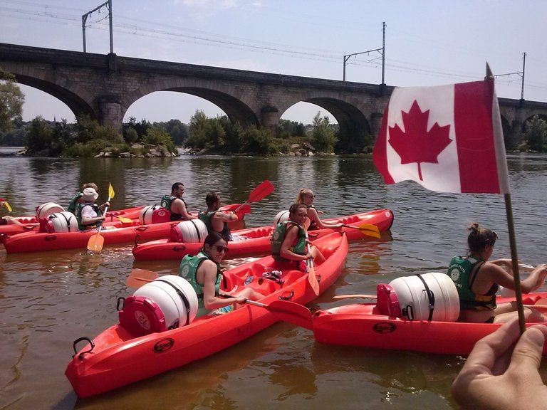 curso frances tours kayak loira - Tours