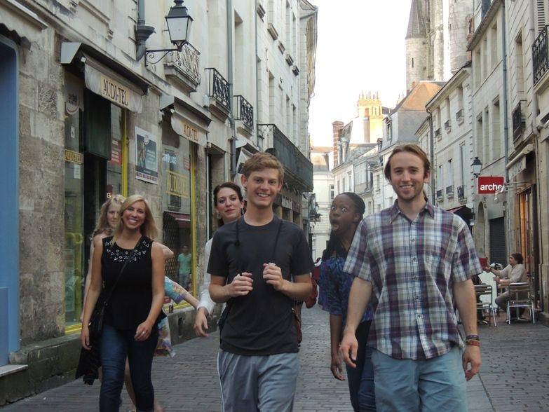 curso frances tours tiempo libre - Tours