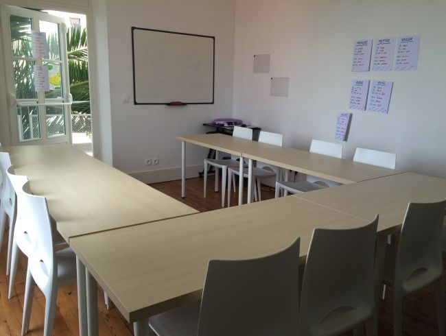 cursos frances biarritz aula - Biarritz