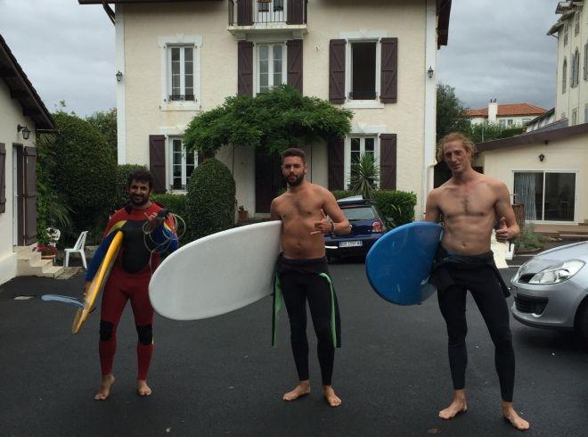 escuela frances biarritz actividades - Biarritz
