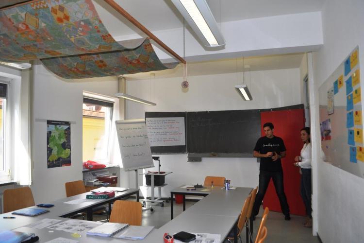 clases aleman alemania - Regensburg