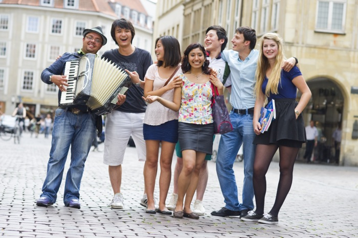 estudiar aleman münster actividades - Münster