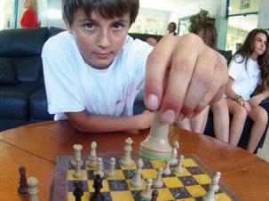 campamento de ajedrez
