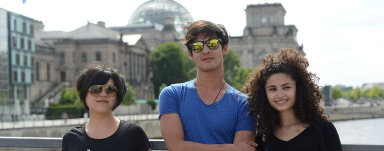 estudiantes en Berlín