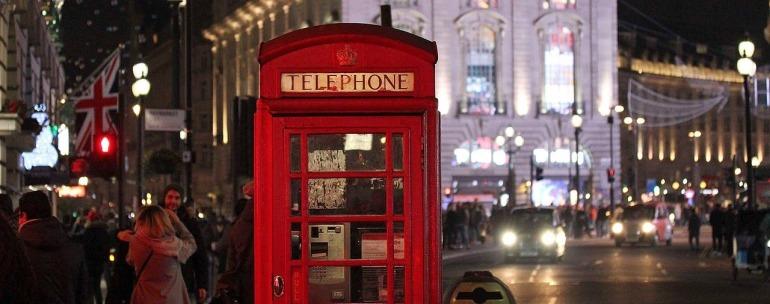 cursos de inglés en Londres en Navidad