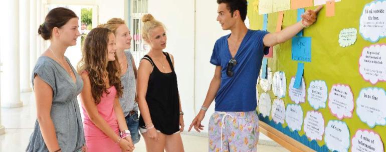 programa de verano en Chipre