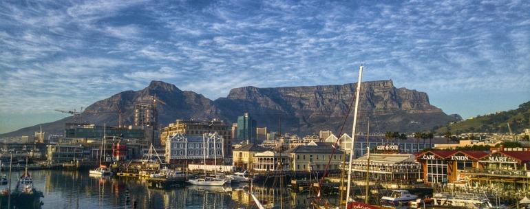 terraza en Sudáfrica