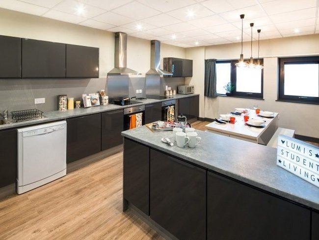 cocina del alojamiento