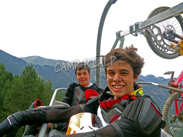 campamento bike rialp - Camp Rialp – DH Bike Camp