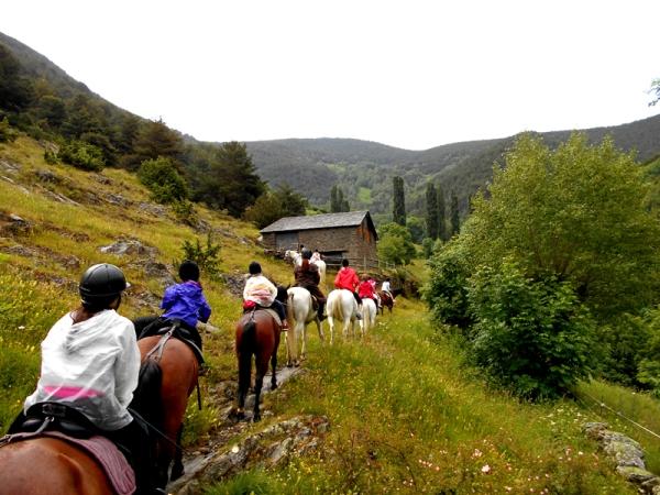 campamento equitación - Camp Rialp – Horse Camp