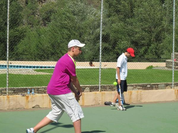 campamento tenis pririneo - Camp Rialp – Tennis & Paddle Camp