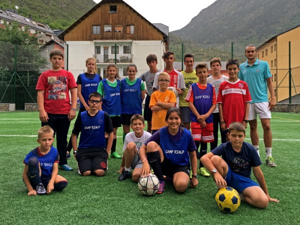 soccer camp - Camp Rialp – Soccer Camp