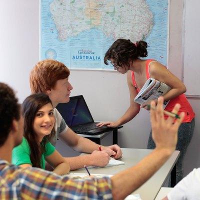 trabajar en el extranjero para aprender ingles