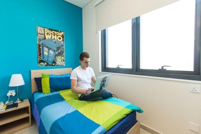 habitación del alojamiento