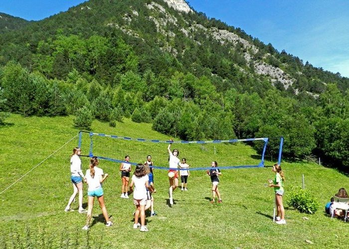 jugando a volley